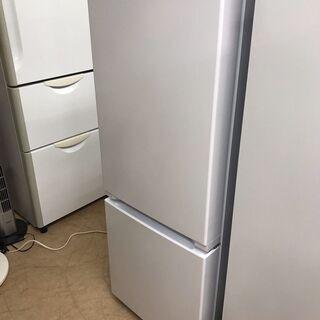 新同品!!! アウトレット2ドア冷蔵庫 2021年製 150リッ...