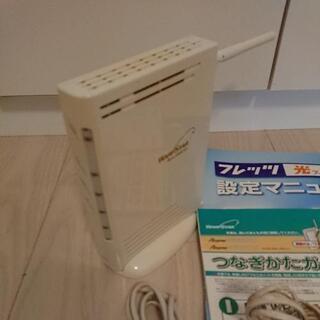 NTT フレッツ光にて使用 無線LANルーター NEC Ater...