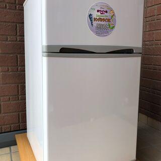 ★アビテラックス 2ドア冷凍冷蔵庫 96L 2015年