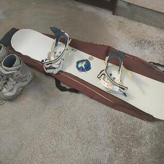 スノーボード(BURTON)、ブーツ(SALOMON)