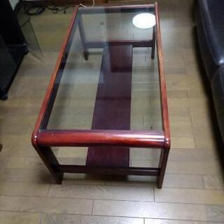 ガラステーブル大