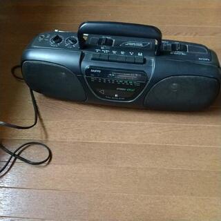 【お値下げ】SANYOのカセットデッキ