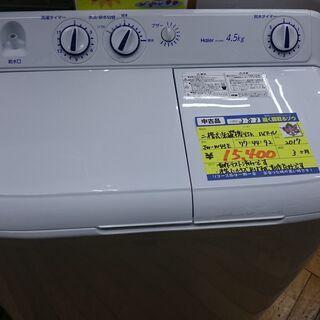 (二槽式洗濯機入荷)ハイアール 二槽式洗濯機4.5kg 2017...
