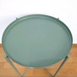 【ネット決済】*IKEA GLADOM トレイテーブル ダークグ...