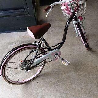 女の子用自転車