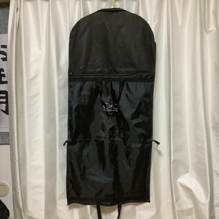 衣装カバー 持ち運び用鞄 ドレスカバー 黒