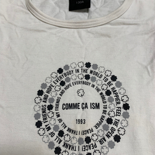 COMME CA ISM  Tシャツ