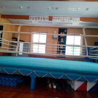 ボクシング教室です。