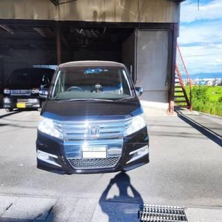 ステップワゴンスパーダ RK5 4ナンバー 貨物車登録 トランポ...