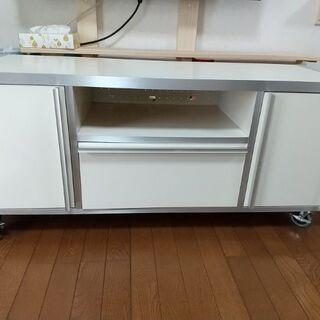 【ネット決済】白 テレビ台