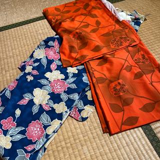 中古の着物、羽織のセット
