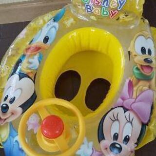 ディズニー ミッキー ボート浮き輪 うきわ
