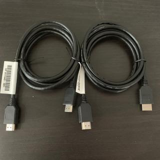 HDMIケーブル2本