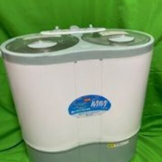 ALUMIS(アルミス) NEW晴晴AHB-02型 2層式小型洗濯機