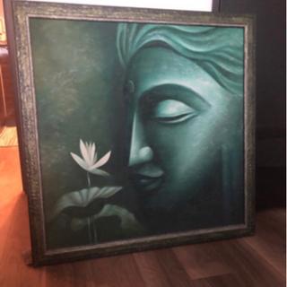 インドで購入した絵です。