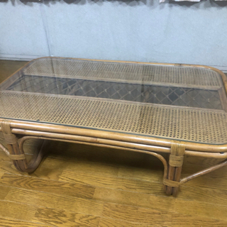 値下げしました!籐の家具 アンティークテーブル
