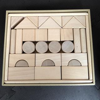 【ネット決済】無塗装・無添加のブナ材積み木