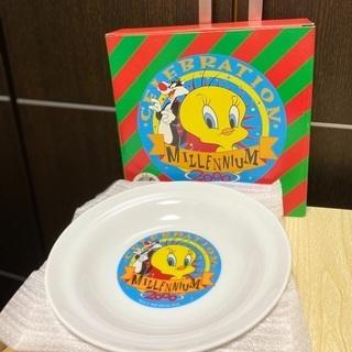 ワーナーブラザーズコラボノベルティ皿(大・4枚)