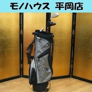 ジュニア用 ゴルフクラブ 5点セット 1W×2本 7I パター ...