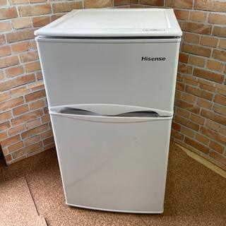 🌈ハイセンス 冷凍冷蔵庫82L HR−B82JW 2015年製