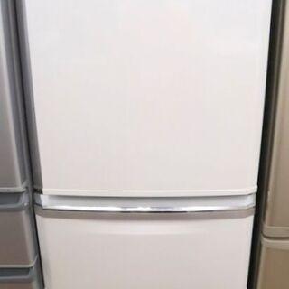 三菱 3ドア冷蔵庫 MR-C34E-W 2020年製 中古品