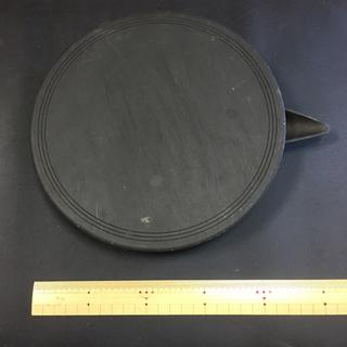 大型 硯 蓋付 片口 丸硯 円形 蓋付硯 片口硯 丸硯 丸…