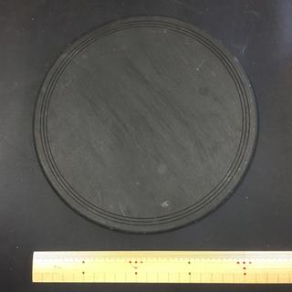 大型 硯 蓋付 片口 丸硯 円形 蓋付硯 片口硯 丸硯 丸形硯 円形硯 - 売ります・あげます