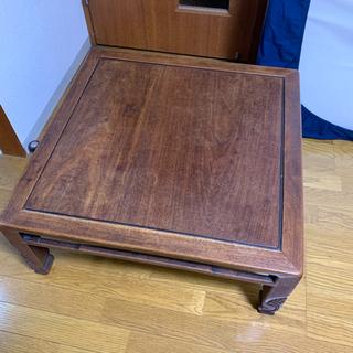 【値下げ】アンティーク ローテーブル