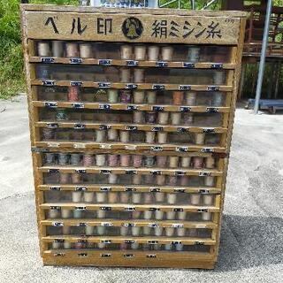 昭和レトロ 糸の商品ケース ベル印