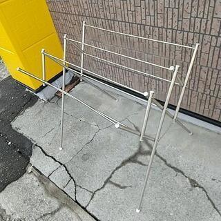 物干し竿 スタンド型