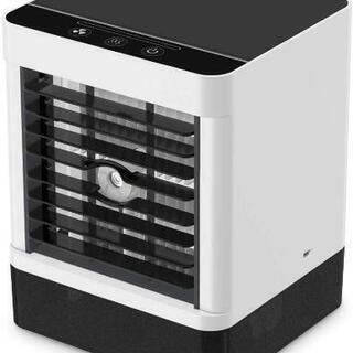 新品 加湿器 扇風機 卓上冷風扇 冷風機 卓上 消毒 風量3段階...