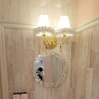 【ネット決済】可愛いランプ(壁掛け:店舗向け)中古