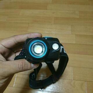【ネット決済】ヘルメットにつけるライト