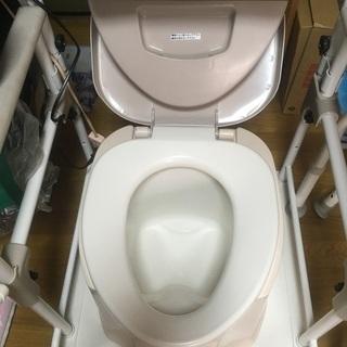 ポータブルトイレ、フレーム、消臭剤一式セット - その他