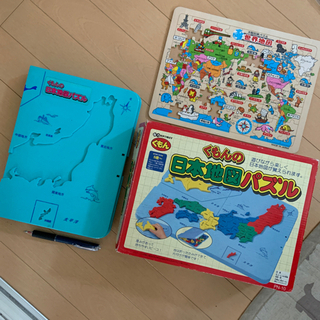 くもんの日本地図パズル 世界地図パズル