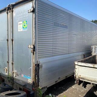 ウイング動作確認済み【希少】4トン箱ウイング 232cm×630...