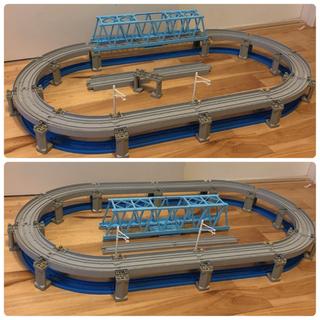 トミカ 高架レールと大鉄橋セット おまけ付き