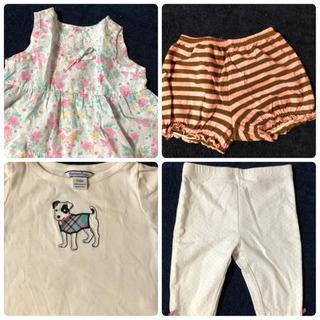 3~6m 女の子 子供服 - 子供用品