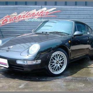 94' Porsche 993 カレラ 黒 D車