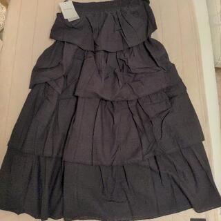 SecretBean黒のフリルスカート