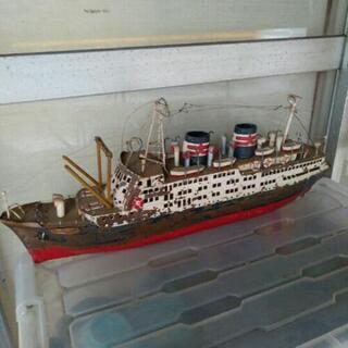 客船 模型 あるぜんちな丸