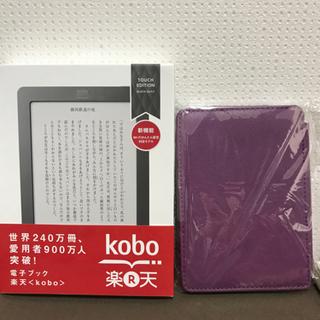 お話し中【美品お得】楽天kobo Touch(Wi-Fiかんたん設定対応モデル)カバー付き🎶の画像