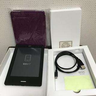 お話し中【美品お得】楽天kobo Touch(Wi-Fiかんたん設定対応モデル)カバー付き🎶 - 大飯郡