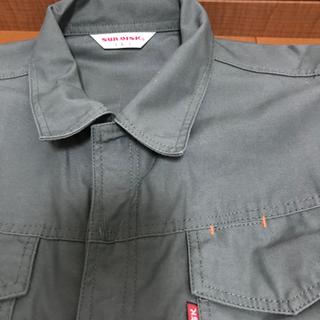 【美品】SUNDISK日の丸繊維 カーキ色ツナギL寸 元値約8千円 - 大飯郡