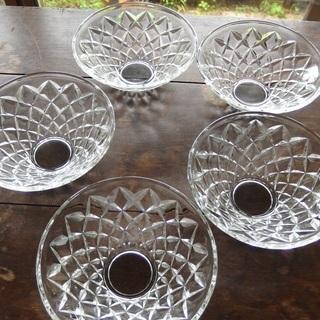 昭和レトロ ガラス鉢5点セット