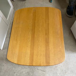 【中古品】木製ローテーブル