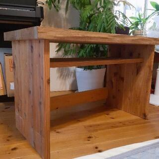 天然木 タモの天板の子ども用机