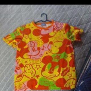 ディズニー✨ミッキー総柄Tシャツ