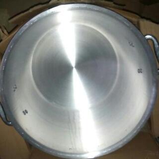 アルミ 寸胴鍋 蓋付き 36cm