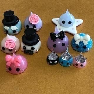 ☆ほっぺちゃんファミリーオブジェ5個&クラウンミニほっぺちゃん...